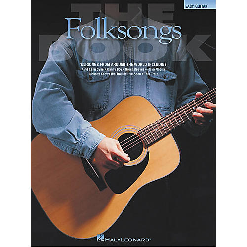 Hal Leonard The Folksongs Easy Guitar Tab Songbook
