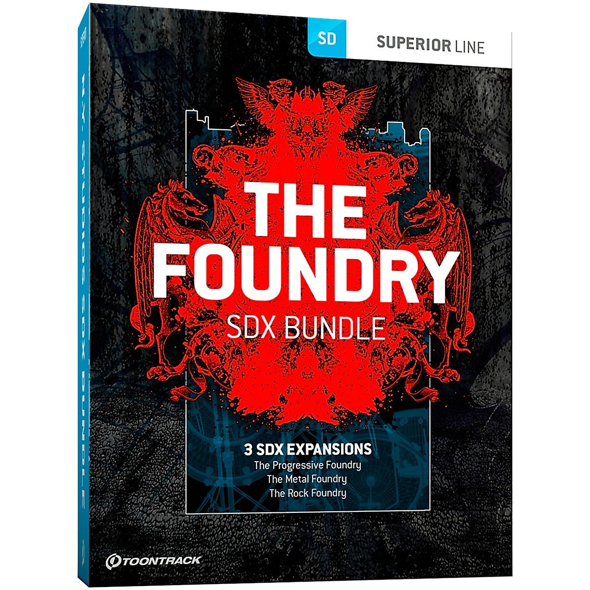 Toontrack The Foundry SDX Bundle