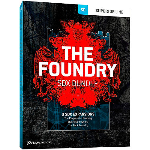 Toontrack The Foundry SDX Bundle