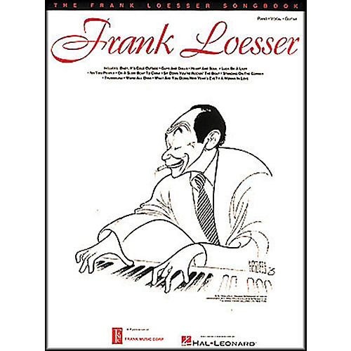 Hal Leonard The Frank Loesser Songbook arranged for piano, vocal, and guitar (P/V/G)