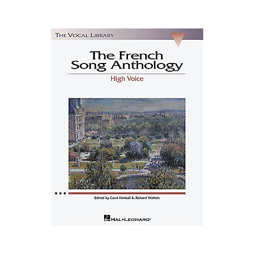 Hal Leonard The French Song Anthology