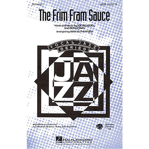 Hal Leonard The Frim Fram Sauce ShowTrax CD Arranged by Paris Rutherford