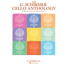 G. Schirmer The G. Schirmer Cello Anthology String Solo Series Softcover