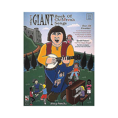 Cherry Lane The Giant Book of Children's Songs Book