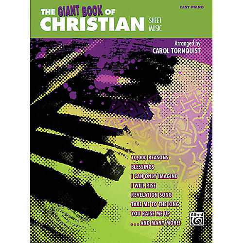 Alfred The Giant Book of Christian Sheet Music Easy Piano Book