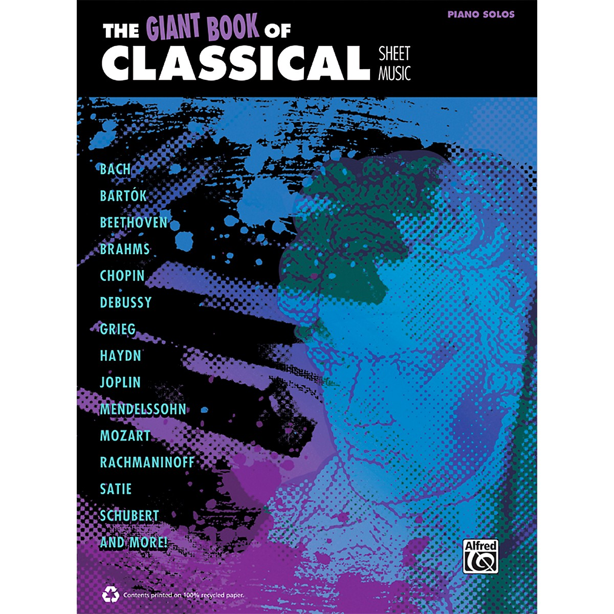 Alfred The Giant Book of Classical Sheet Music Piano Book