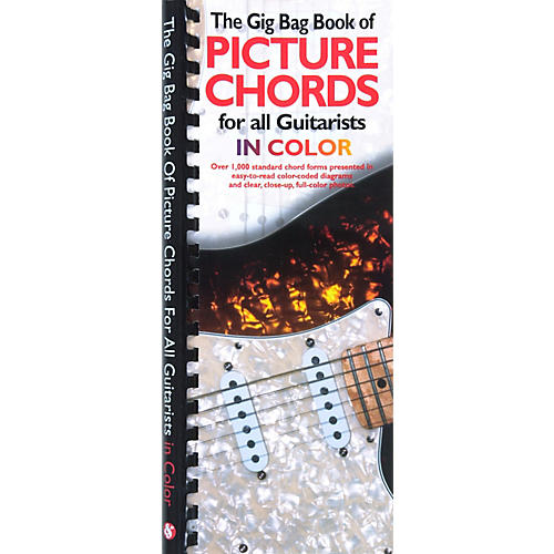 Amsco The Gig Bag Book of Picture Chords for all Guitarists in Color ...