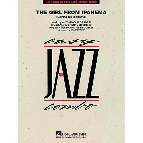 Hal Leonard The Girl from Ipanema (Garôta de Ipanema) Jazz Band Level 2 Arranged by John Berry