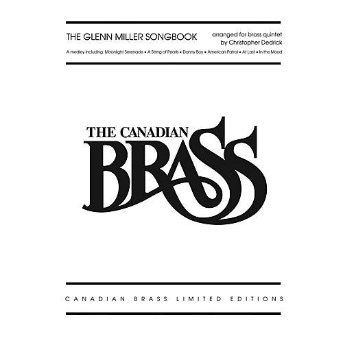 Hal Leonard The Glenn Miller Songbook Brass Ensemble Series by The Canadian Brass