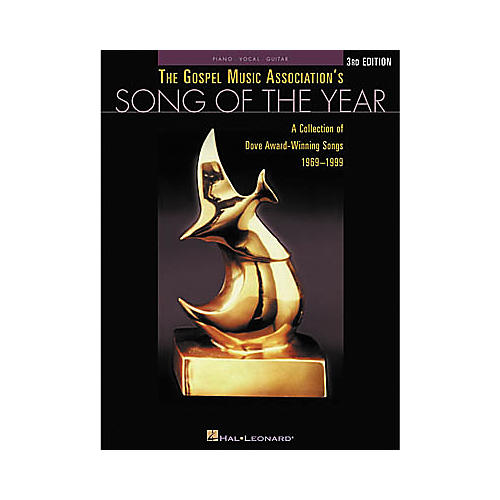 Hal Leonard The Gospel Music Association's Song of the Year 3rd Edition Piano/Vocal/Guitar Songbook