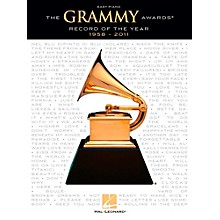 Hal Leonard The Grammy Awards Record Of The Year 1958-2011 for Easy Piano