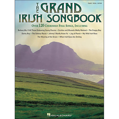 Hal Leonard The Grand Irish Songbook arranged for piano, vocal, and guitar (P/V/G)