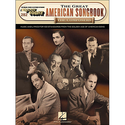 Hal Leonard The Great American Songbook The Composers E-Z Play 282