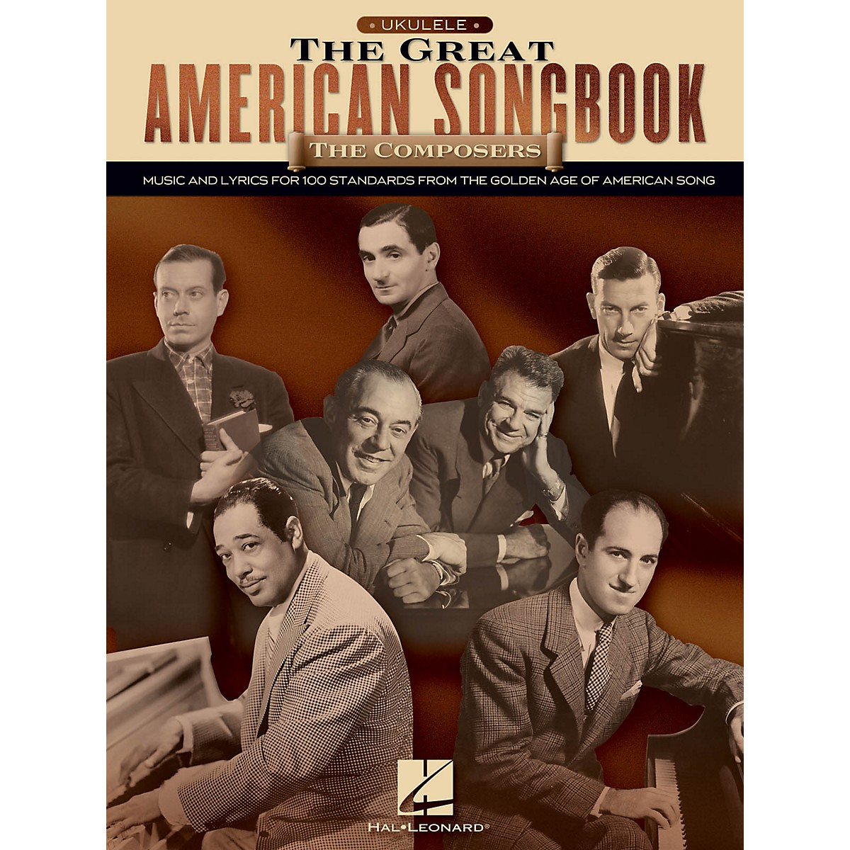 Hal Leonard The Great American Songbook: The Composers for Ukulele