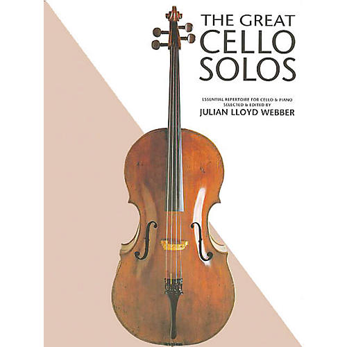 Chester Music The Great Cello Solos Music Sales America Series Softcover