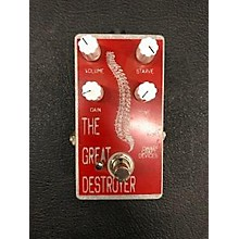 Dwarfcraft The Great Destroyer Distortion Effect Pedal