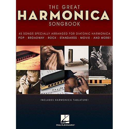 Hal Leonard The Great Harmonica Songbook Harmonica Series Softcover