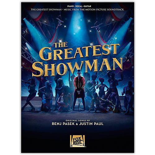 Hal Leonard The Greatest Showman - Music from the Motion Picture Soundtrack Piano/Vocal/Guitar Songbook