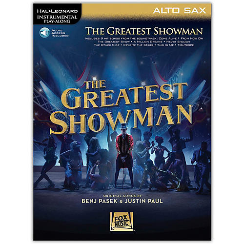 Hal Leonard The Greatest Showman Instrumental Play-Along Series for Alto Sax Book/Online Audio