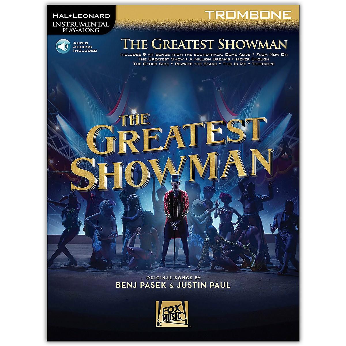 Hal Leonard The Greatest Showman Instrumental Play-Along Series for Trombone Book/Online Audio