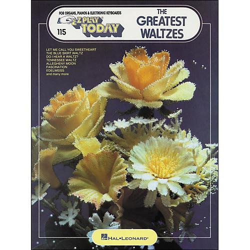 Hal Leonard The Greatest Waltzes E-Z play 115