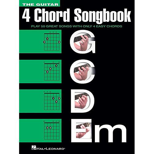 Hal Leonard The Guitar Four Chord Songbook (4 Chord) G-C-D