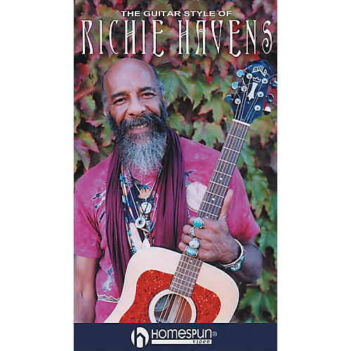Homespun The Guitar Style of Richie Havens (VHS)