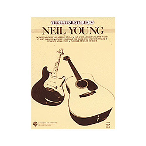Alfred The Guitar Styles of Neil Young Book