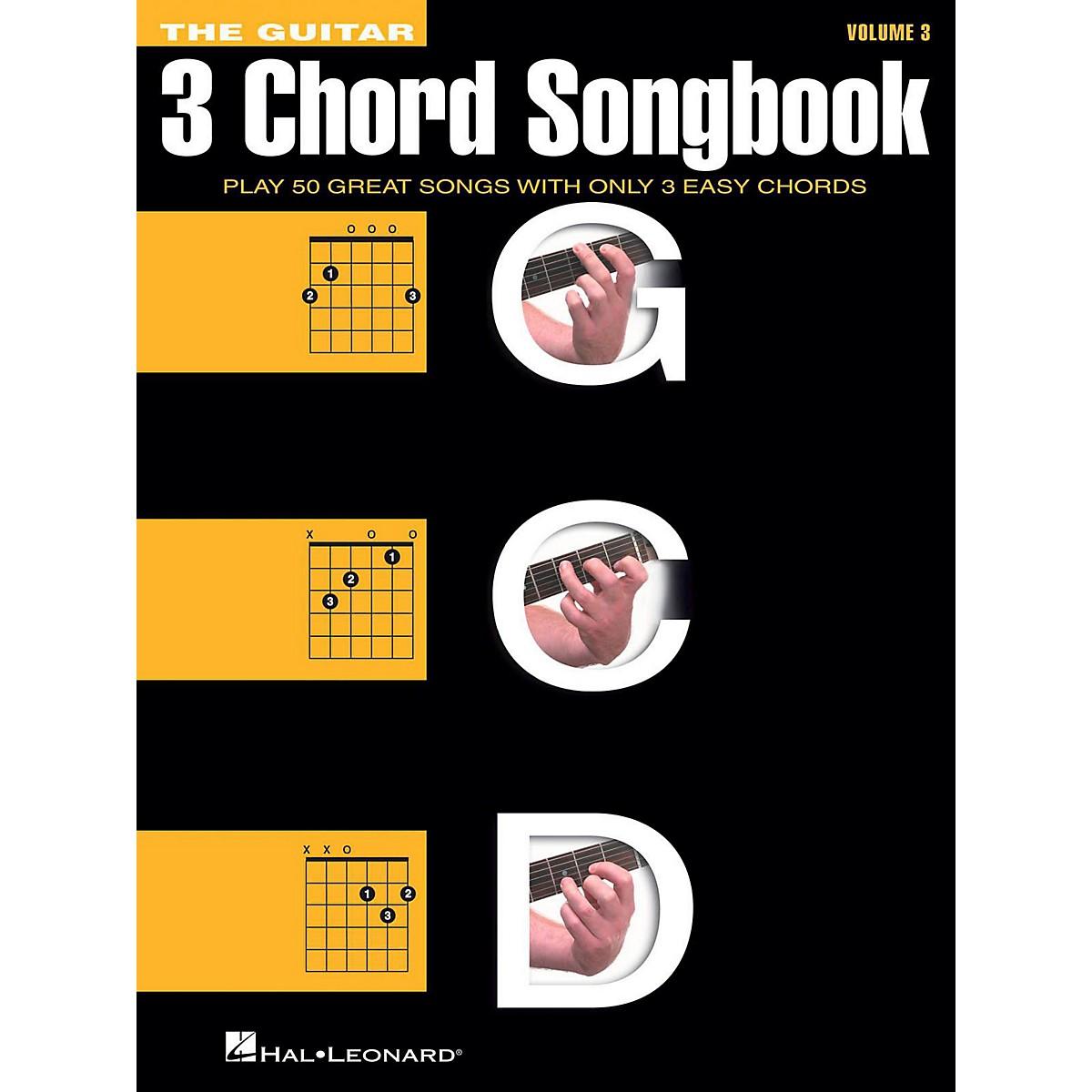 Hal Leonard The Guitar Three Chord Songbook Volume 3  G-C-D
