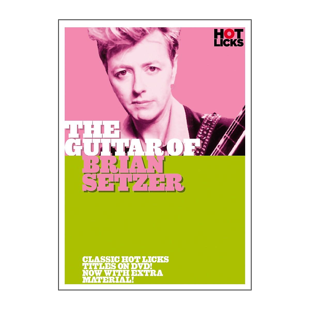 Hot Licks The Guitar of Brian Setzer (DVD)