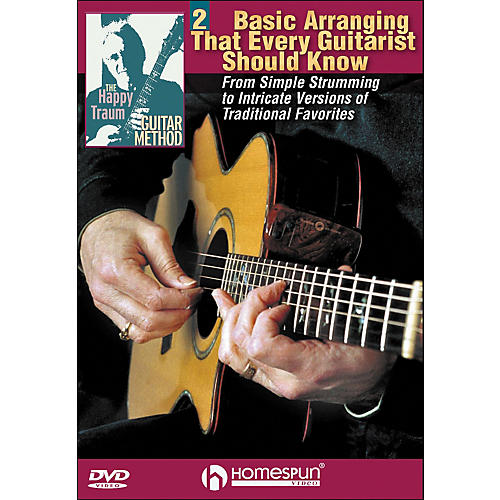 Homespun The Happy Traum Guitar Method: Basic Arranging Techniques DVD 2