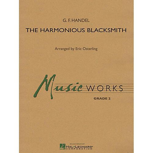 Hal Leonard The Harmonious Blacksmith Concert Band Level 3 Arranged by Eric Osterling