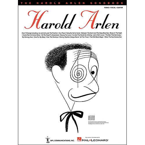 Hal Leonard The Harold Arlen Songbook arranged for piano, vocal, and guitar (P/V/G)