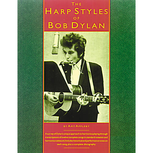 Music Sales The Harp Styles of Bob Dylan (Book)