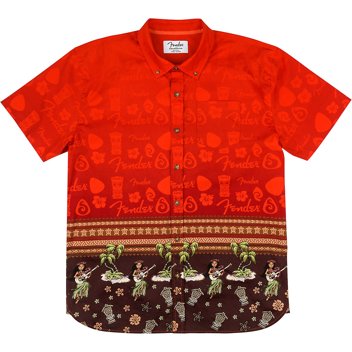 Fender The Hawaiian Button Up Shirt
