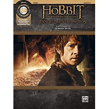 Alfred The Hobbit - The Motion Picture Trilogy Instrumental Solos for Strings Violin Book & CD Level 2-3 Songbook