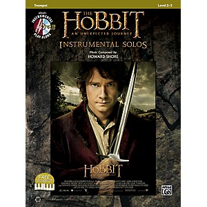 Click here to buy Alfred The Hobbit: An Unexpected Journey Instrumental Solos Trumpet Book/C... by Alfred.
