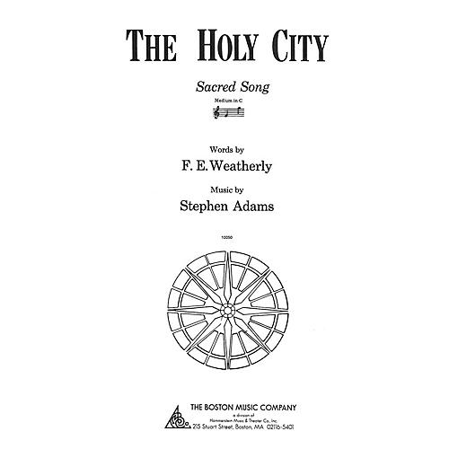 Music Sales The Holy City Medium C Music Sales America Series