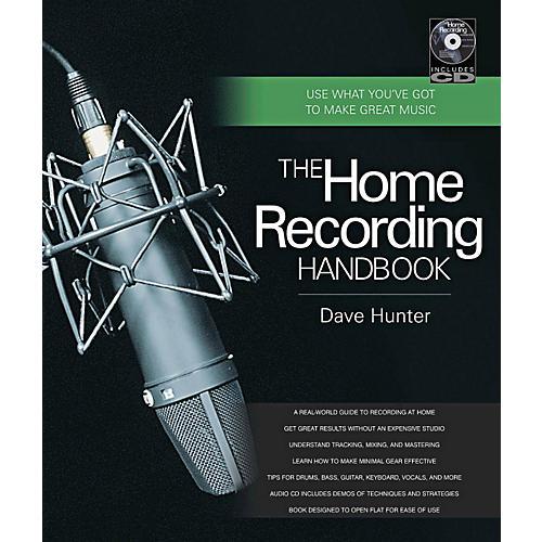 Hal Leonard The Home Recording Handbook Book/CD