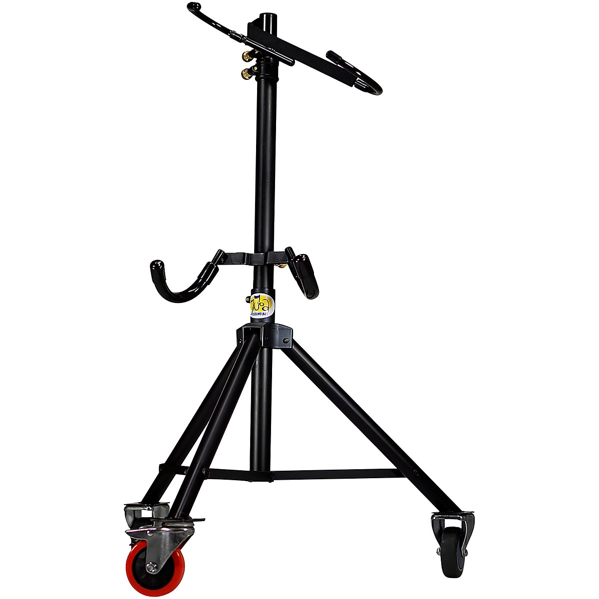 Tuba Essentials The Hug Adjustable Tuba Stand for 3/4 Size Left Side Mouthpiece Instruments