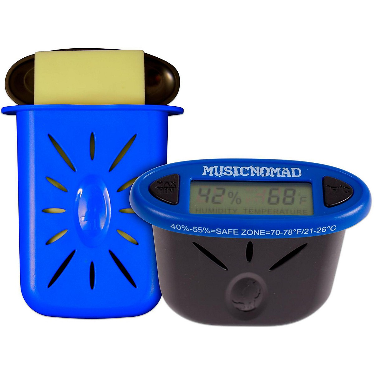 MusicNomad The Humitar & HumiReader Acoustic Guitar Care Pack