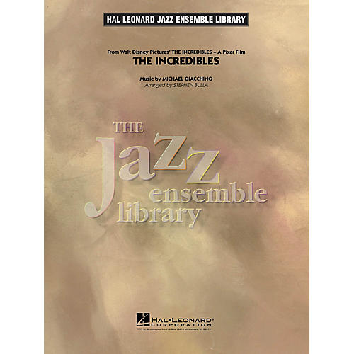 Hal Leonard The Incredibles Jazz Band Level 4 Arranged by Stephen Bulla
