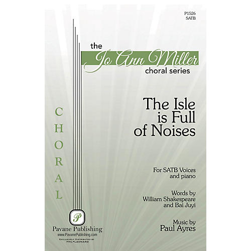 Pavane The Isle Is Full of Noises SATB composed by Paul Ayres