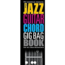 Music Sales The Jazz Guitar Chord Gig Bag Book