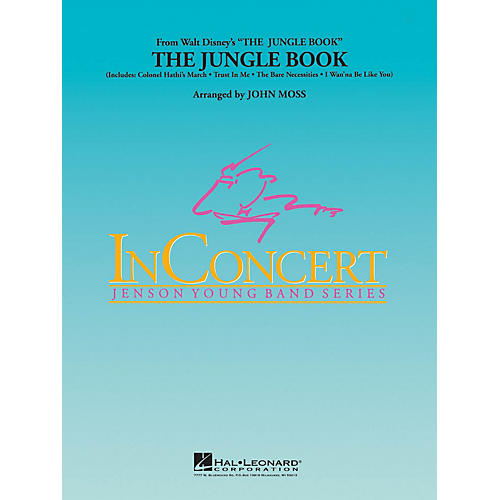Hal Leonard The Jungle Book - Young Concert Band Series Level 3 arranged by John Moss