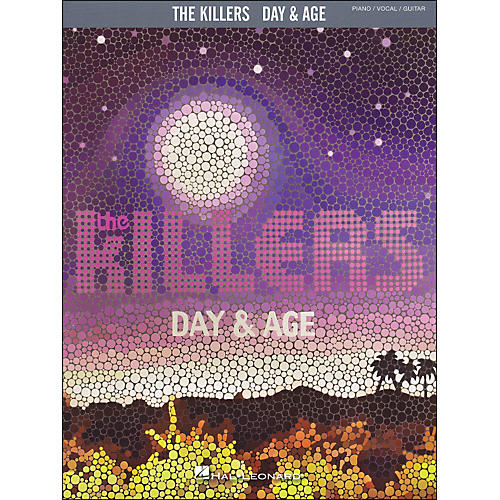 Hal Leonard The Killers - Day & Age arranged for piano, vocal, and guitar (P/V/G)