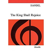 Novello The King Shall Rejoice SATB