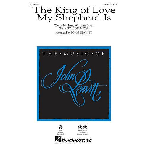 Hal Leonard The King of Love My Shepherd Is CHAMBER ORCHESTRA ACCOMP Arranged by John Leavitt