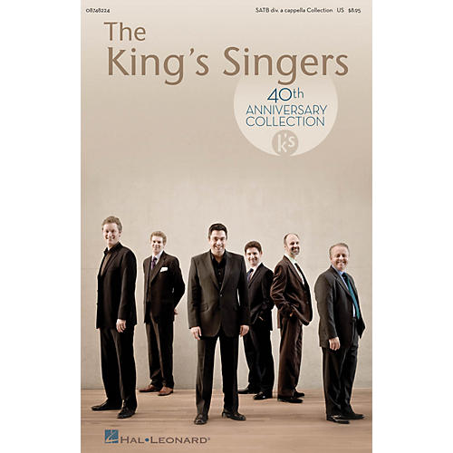 Hal Leonard The King's Singers 40th Anniversary Collection SATB Divisi Collection