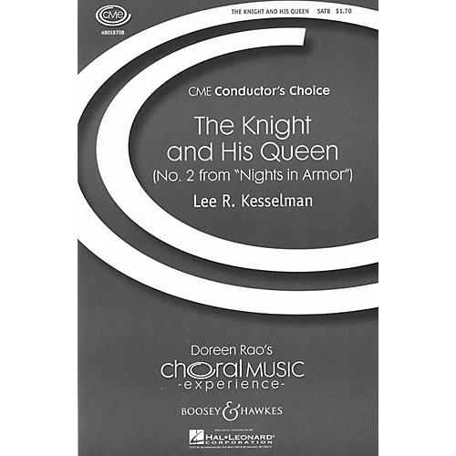 Boosey and Hawkes The Knight and His Queen (No. 2 from Nights in Armor) SATB a cappella composed by Lee Kesselman